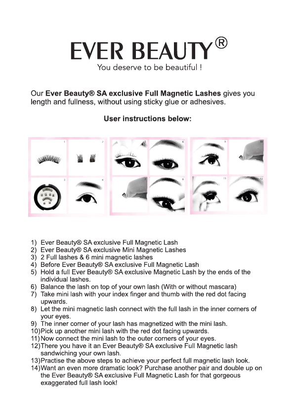 Full Magnetic Lash (No. 1, No. 2 & No. 3)