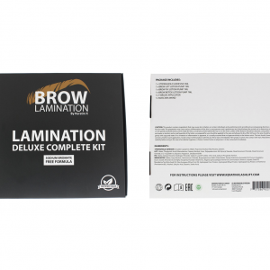 Brow Lamination Kit By Keratin X (Vegan Approved) NEW!