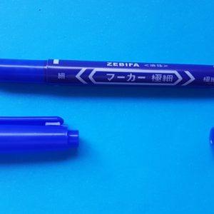 Blue Marker Pen